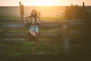 jean shorts women sunset women with glasses