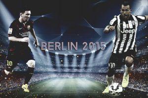 juventus 2015 stadium footballers berlin carlos tevez champions league