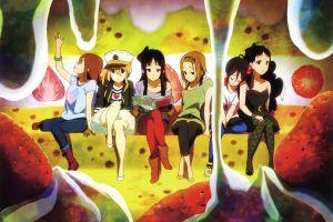 k-on! nakano azusa tainaka ritsu hirasawa yui anime girls akiyama mio