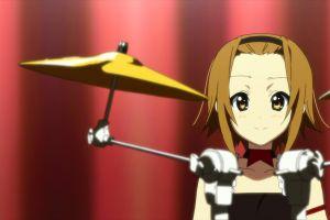 k-on! tainaka ritsu anime girls