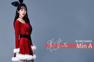 k-pop christmas aoa women