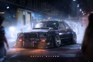 khyzyl saleem artwork car render mazda jdm