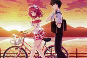 kimi no tonari de koishiteru! visual novel komatsu rina anime girls