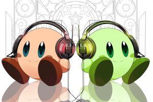 kirby video games headphones