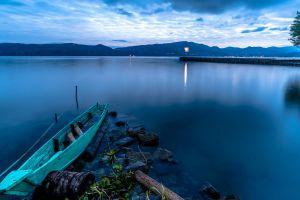 lake indonesia nature