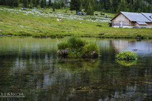 lake mountains germany