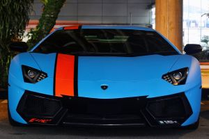 lamborghini blue cars supercars car vehicle