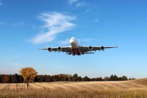 landscape a380 aircraft passenger aircraft