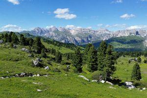 landscape dolomites (mountains) nature mountains