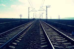 landscape photography railway