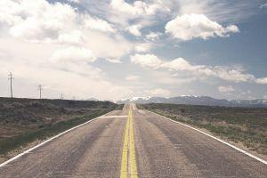landscape road asphalt