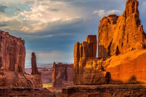 landscape rock arizona nature sky usa