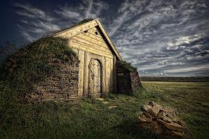 landscape ruins nature