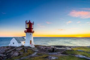 landscape sunrise sea lighthouse photography horizon orange sky