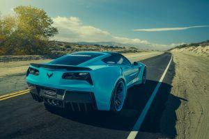 landscape vehicle asphalt car blue cars road