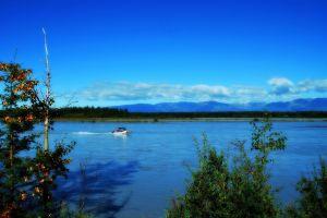 landscape water sky boat vehicle nature