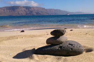 lanzarote beach stones