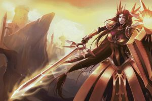 league of legends leona (league of legends) video games