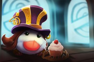 league of legends poro caitlyn