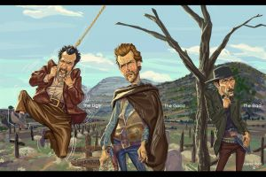 lee van cleef the good, the bad and the ugly blondie clint eastwood eli wallach