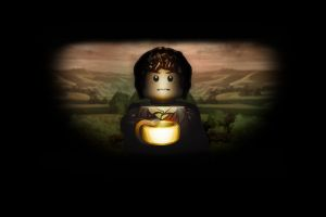 lego frodo baggins the lord of the rings