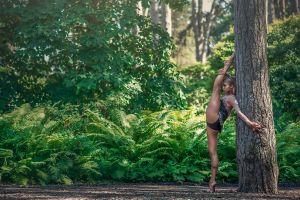 legs gymnastics flexible women ballerina women outdoors dimitry roulland oceane charoy splits