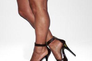 legs stiletto muscles