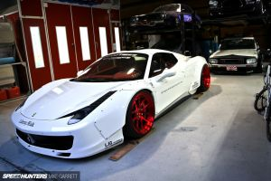 liberty walk speedhunters  lb performance ferrari car 458 italia ferrari 458 italia