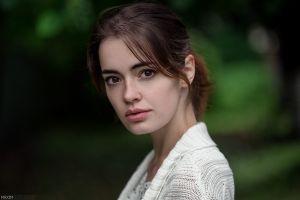 lidia savoderova women face portrait maxim guselnikov