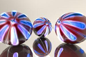 lights reflection render ball