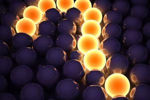 lights render digital art balls