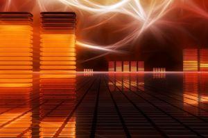 lights render digital art