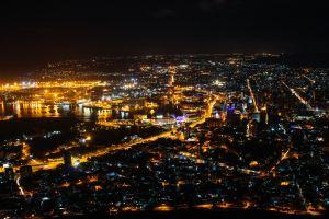 lights street light artificial lights city