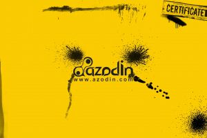 logo paintball yellow background