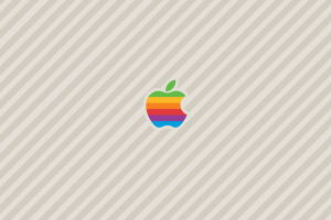 logo vintage apple inc.