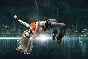 long hair artwork digital art dancer