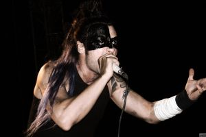 long hair black microphone hayko cepkin rock stars