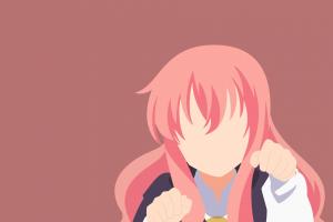 louise françoise leblanc de la vallière anime anime girls zero no tsukaima minimalism