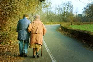 love couple old people