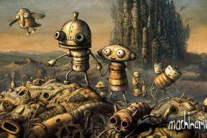 machinarium video game art video games
