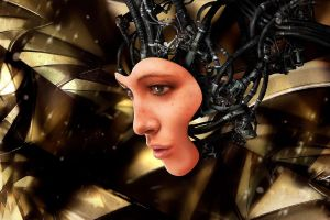 machine science fiction artwork