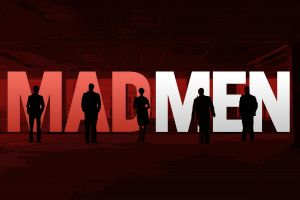 mad men typography silhouette