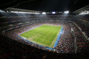 madrid spain soccer real madrid santiago bernabeu stadium