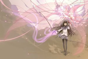 mahou shoujo madoka magica kaname madoka akemi homura anime girls