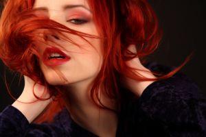 make up women redhead ariel piper fawn