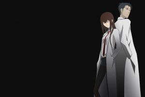 makise kurisu steins;gate okabe rintarou anime