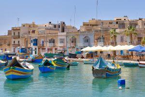 malta photography city fishing boat village boat harbor