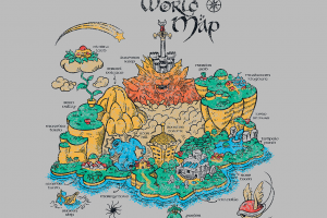 map super mario video games