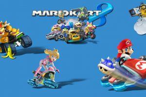 mario kart nintendo mario kart 8 princess peach mario bros. toad (character) video games