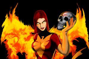 marvel comics skull fantasy art artwork